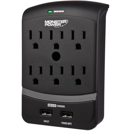 Monster Power EXP 650 Home Wall Plug with USB