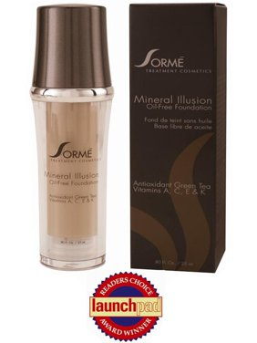 Sorme Cosmetics Mineral Illusion - Oil Free Luminous Foundation - Color : Beige Nude #712