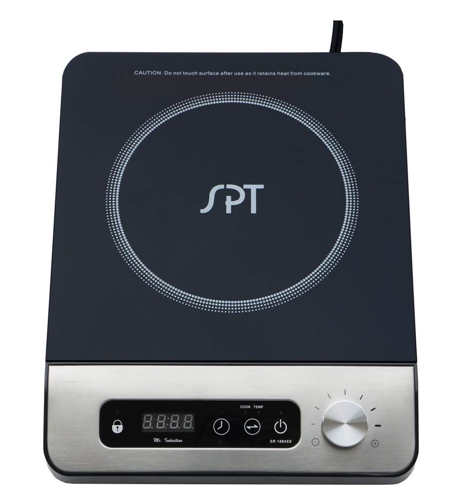 Sunpentown 1,300W Induction Cooktop, Black   Walmart.com