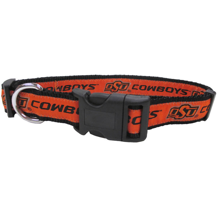 Pets First College Oklahoma State Cowboys Pet Collar, 3 Sizes Available, Sports Fan Dog Collar