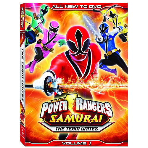 Power Rangers Samurai: The Team Unites Vol. 1 (Widescreen)