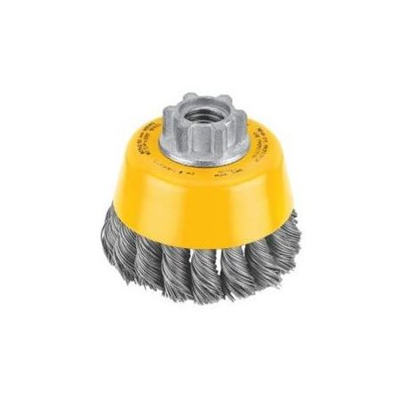 Dewalt Accessories DW4910 3in. Knotted Steel Cup Wire Brush