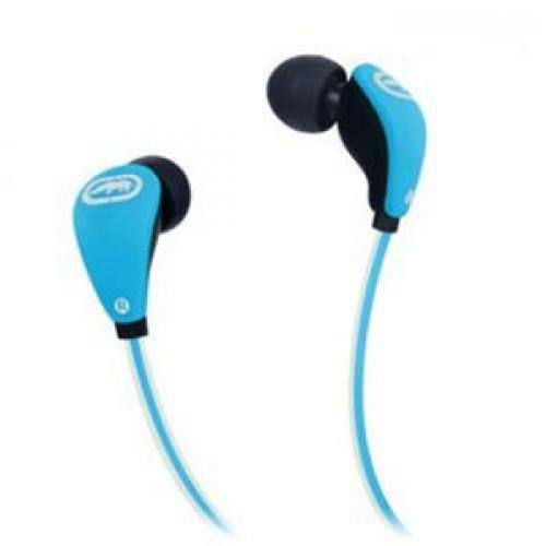 ECKO UNLIMITED EKU-GLW-BL Glow Earbuds with Microphone (Blue)