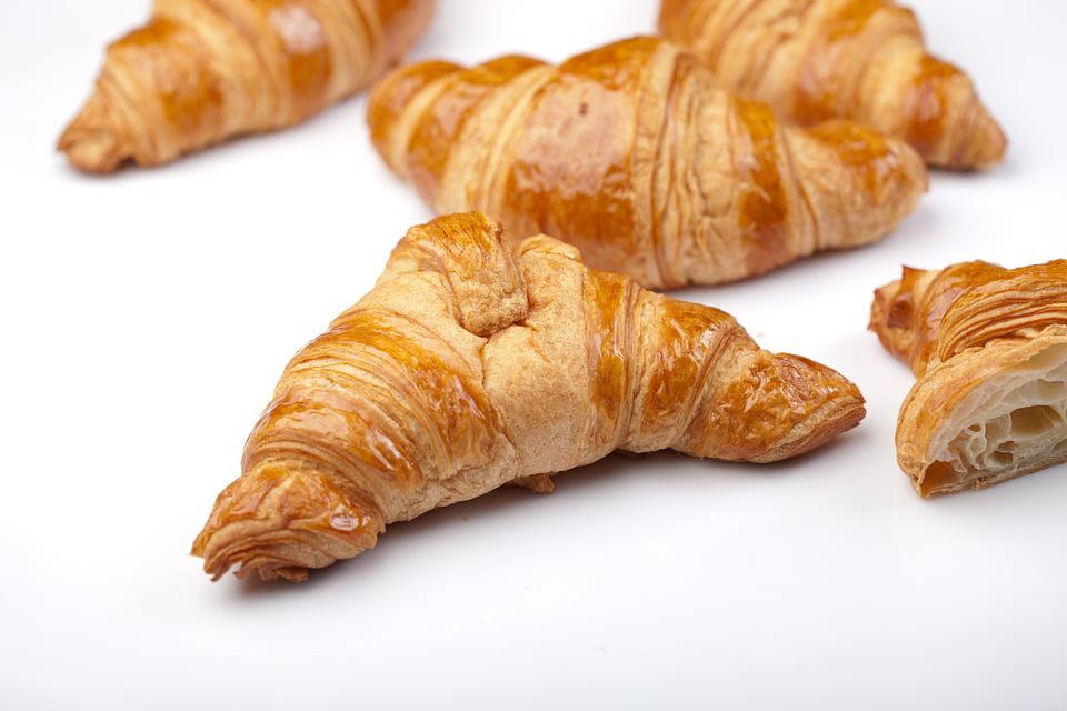 Framed Art for Your Wall Croissant Breakfast Baking..
