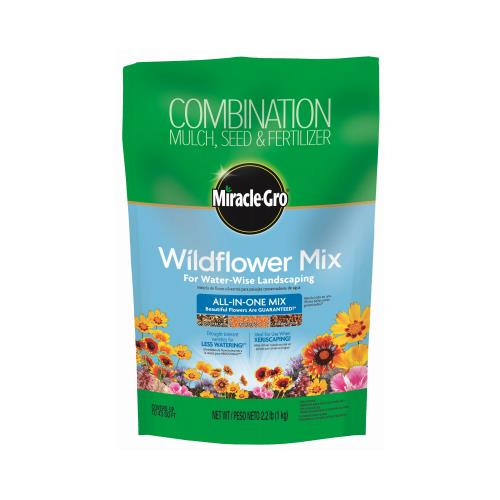 Scotts Miracle Gro 3001710 Wildflower All-In-One Mix, 2.2...