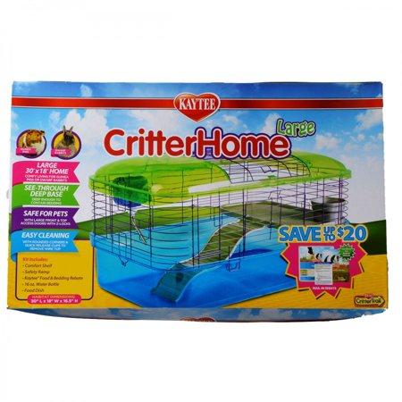 Super Pet Deluxe Care - Super Pet- Container-Kt Critterhome Deluxe Habitat 30x18