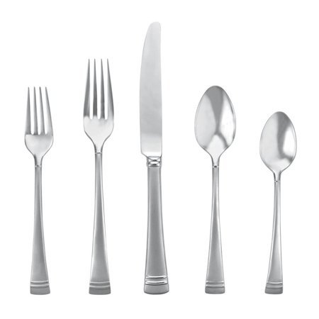 Lenox Federal Platinum Frosted 5 Piece Place Setting