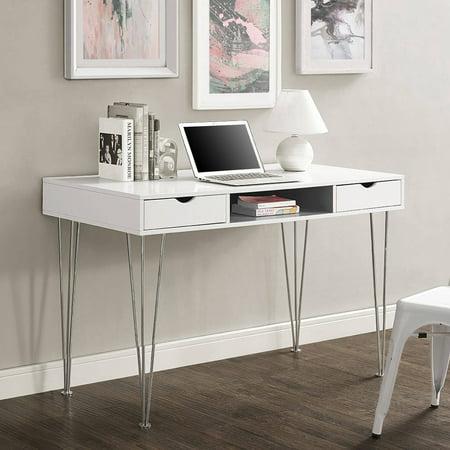 "Walker Edison 48"" Modern Wood Computer Desk, Multiple ..."
