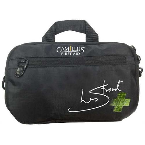 CAMILLUS 90386 First Aid Kit, Portable, Black, Fabric