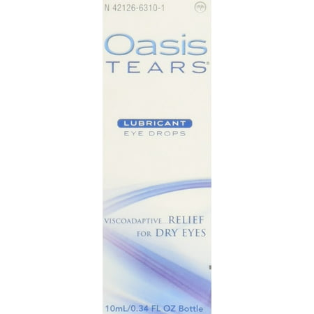 Hammary Oasis (Oasis TEARS Lubricant Eye Drops Bottle Relief For Dry Eyes, 0.34)