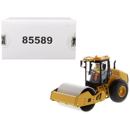 "CAT Caterpillar CS11 GC Vibratory Soil Compactor with Operator ""High Line Series"" 1/50 Diecast Model by Diecast Masters"