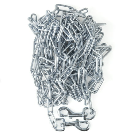Vibrant Life Welded Chain Tie-Out for Dogs, X-Large, 20'