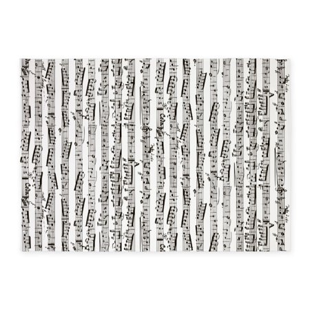 Music Rug (CafePress - Music Notes - 5'x7'Area)