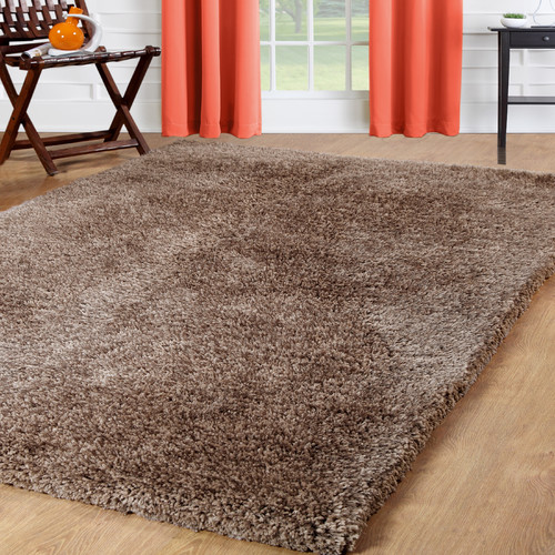 Affinity Linens Taupe Area Rug