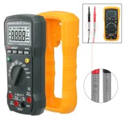 Best Digital Multimeters - uxcell PEAKMETER Authorized Orange Digital Multimeter AC/DC Voltage Review
