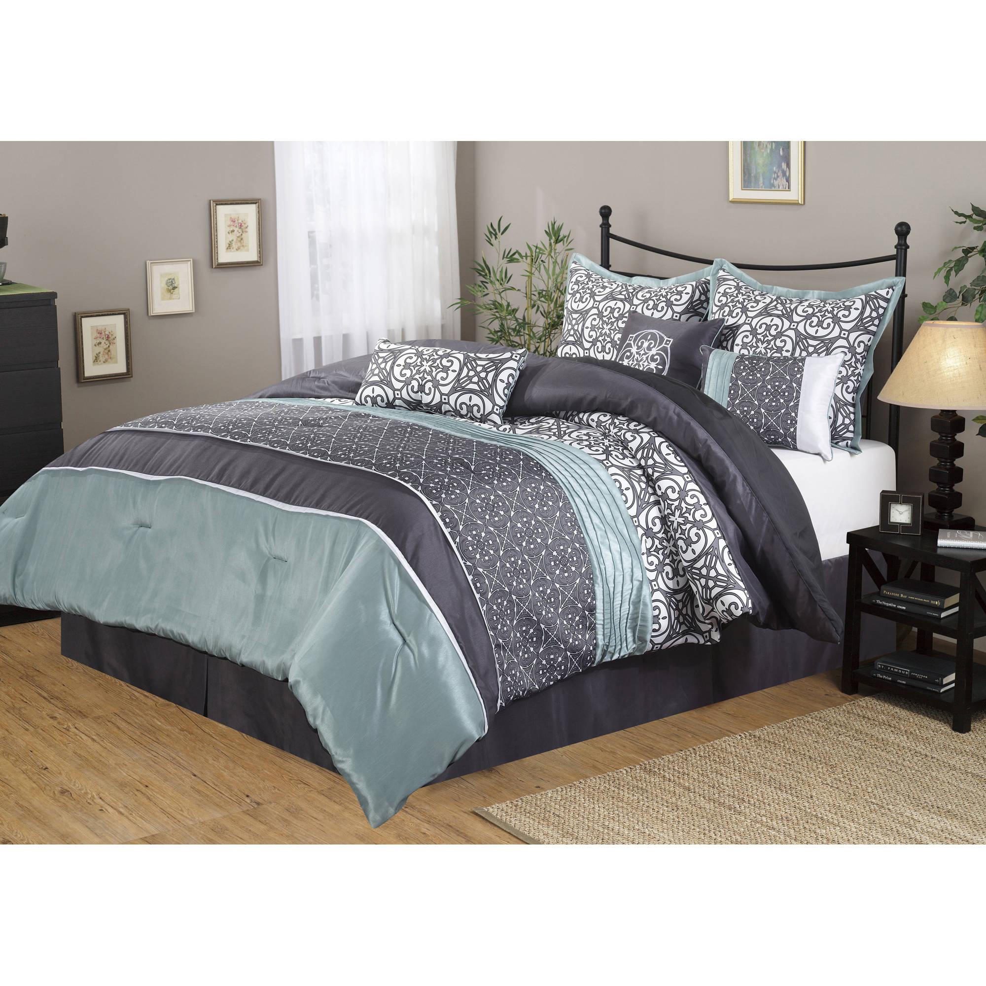 Wayfair basics wayfair basics 7 piece comforter set amp reviews - Nanshing Roxanne 7 Piece Bedding Comforter Set