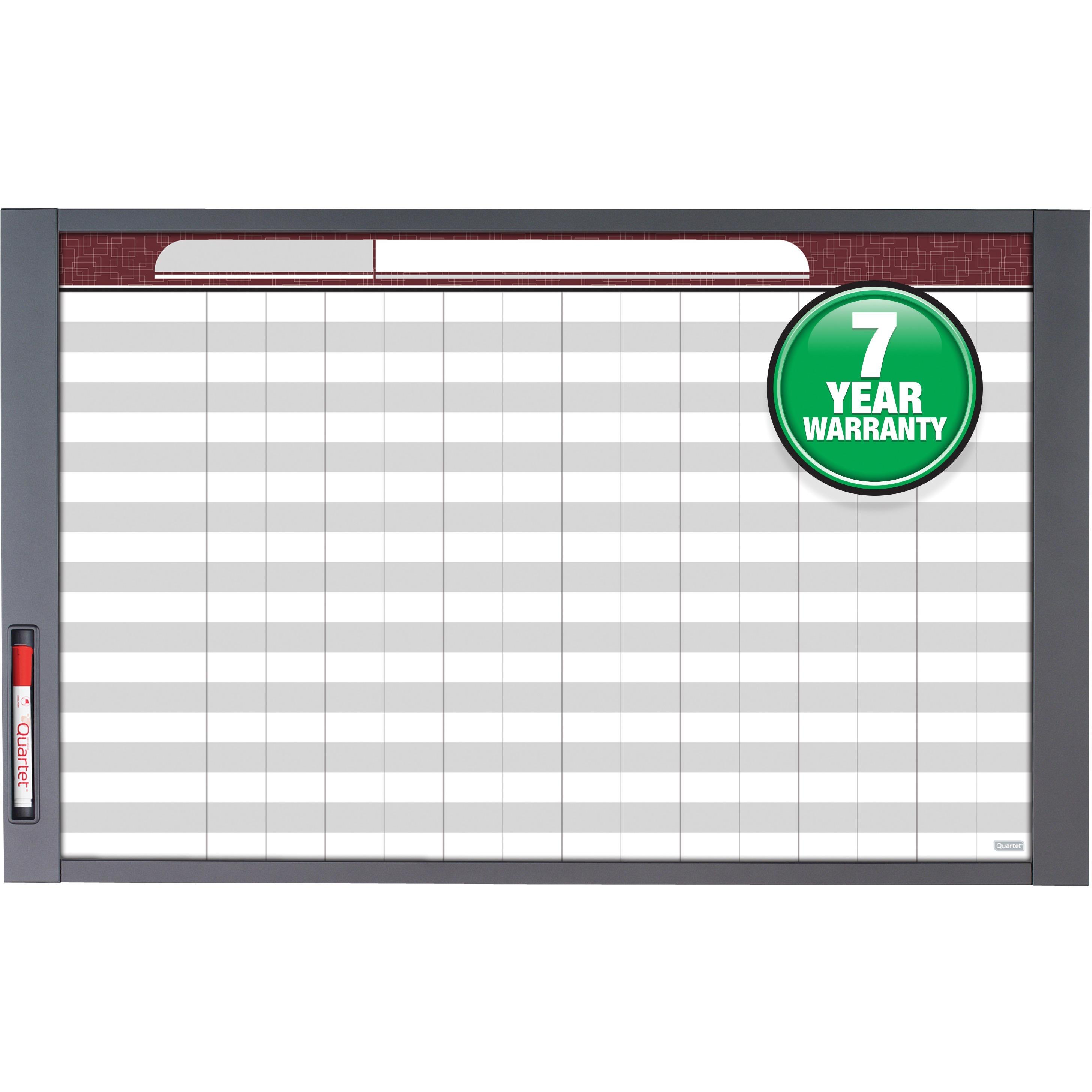 Quartet, QRT72982, InView™ Custom Whiteboard, 1 / Each