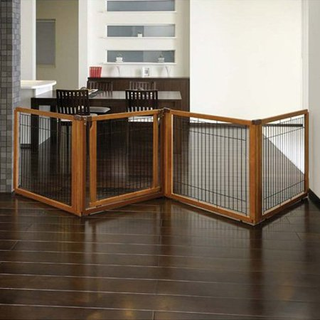 Richell One Touch Gate (Richell USA Convertible Elite 4 Panel Pet Gate)