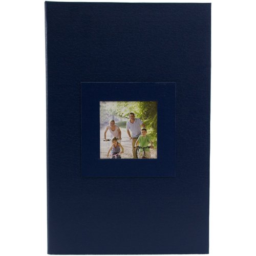 Pinnacle Frames and Accents 3-Up Blue Photo Album