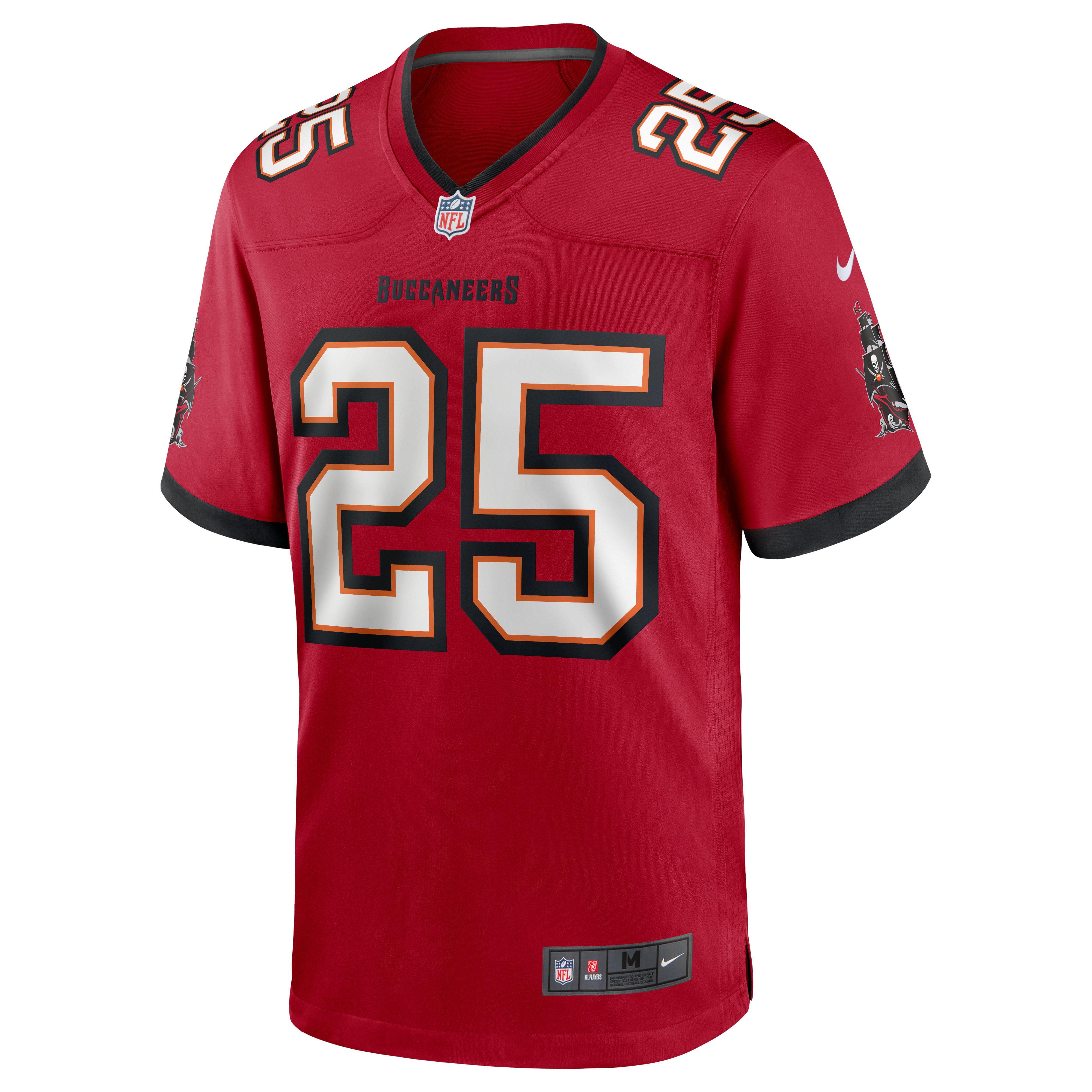 LeSean McCoy Tampa Bay Buccaneers Nike Team Game Jersey - Red