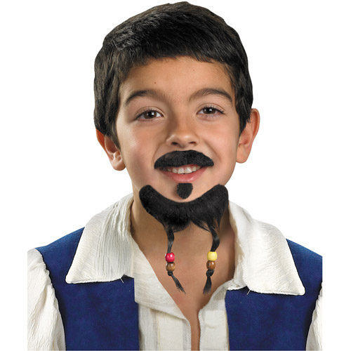 Pirate Goatee and Moustache Halloween Accessory