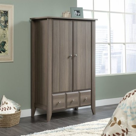 Sauder Shoal Creek Armoire in Diamond Ash | Walmart Canada