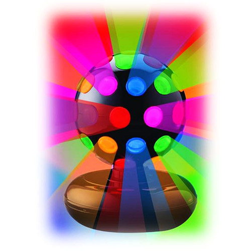 "Creative Motion 6"" Rotating Disco Ball Light"