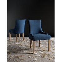 Safavieh Lester Contemporary Glam Dining Chair, Set of 2