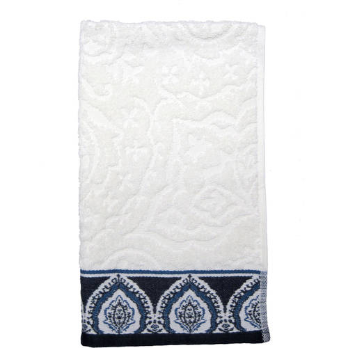 Better Homes and Gardens Indigo Arabesque Bath Towel Collection