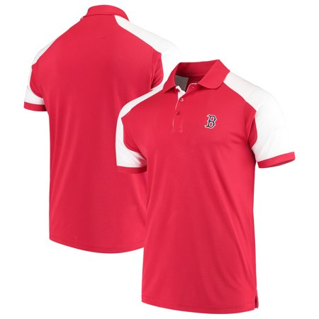 UPC 193373000132 product image for Boston Red Sox Antigua Century Polo - Red/White | upcitemdb.com