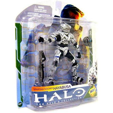 McFarlane Halo Series 5 Spartan Soldier Hayabusa Action Figure [White]