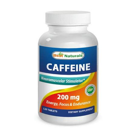 Best Naturals Caféine 200 mg 120