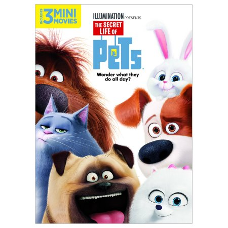The Secret Life Of Pets Dvd Walmart Com