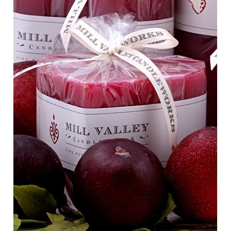 Mill Valley Candleworks Summer Plum Scented Novelty Candle