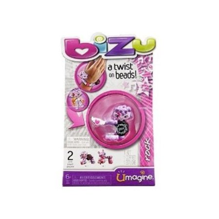 Bead Kit- Rock, With a simple twist you can convert your Bizu from bracelet to animal, and back again! By Bizu