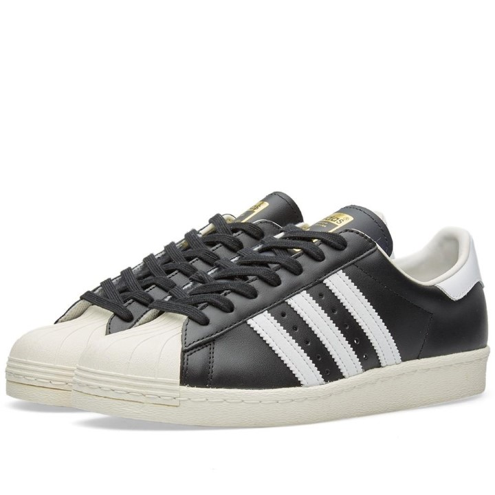 Adidas Men's Superstar 80 Originals Casual Shoe by Adidas