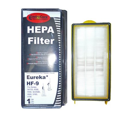 Heavy Duty Bagless Upright Vacuum - (1) 60285 Eureka HF9 Hepa Pleated Vacuum Filter, Bagless Cyclonic, Heavy Duty Upright, Self Propelled, Cleaner & Cycloni