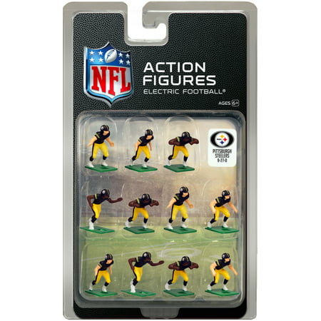 baf53632abd Pittsburgh Steelers Home Uniform NFL Action Figure Set - Walmart.com