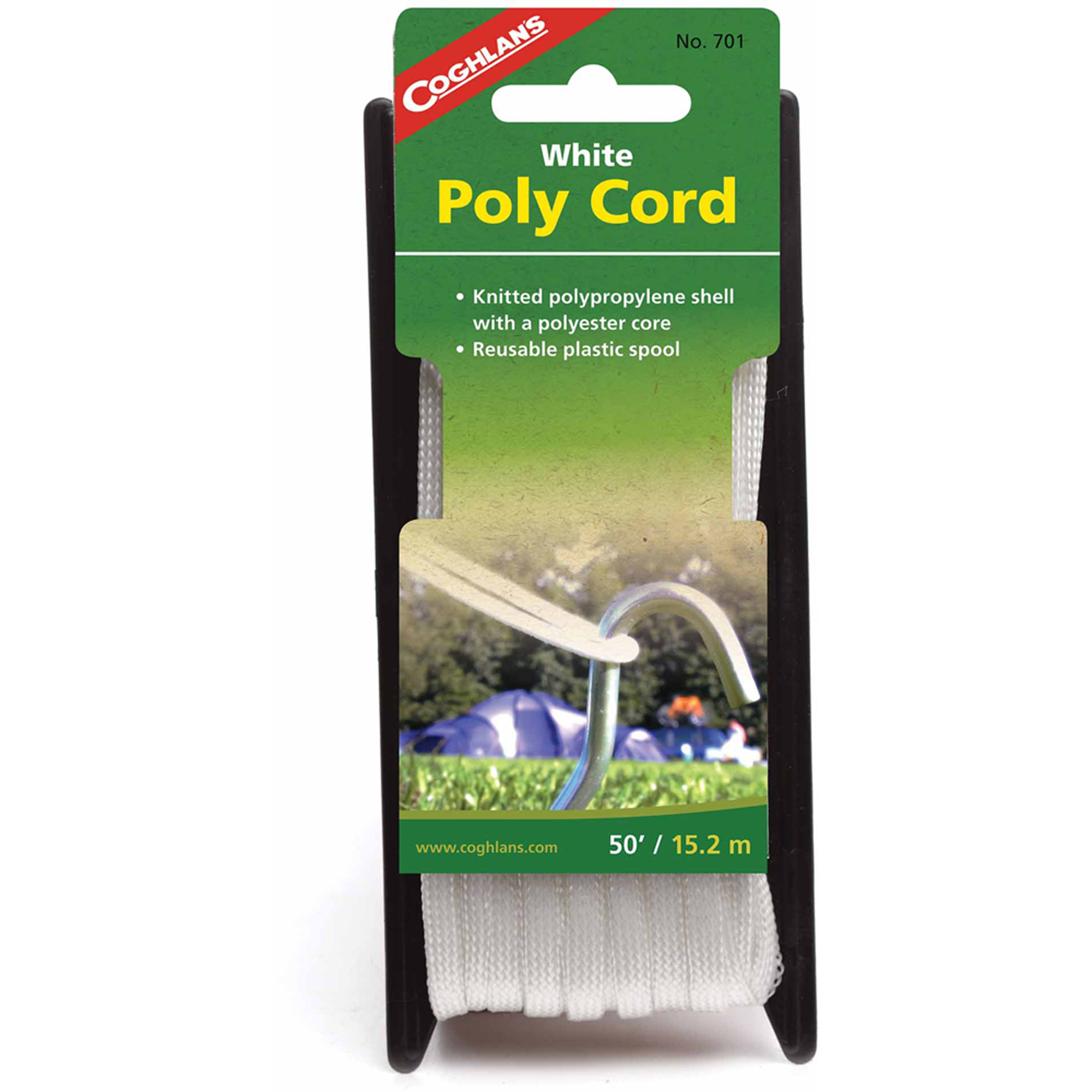 Coghlan's 701 Braided Poly Cord, 50'