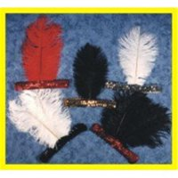 Alexander Costume 61-045-B Sequin Headband, Black