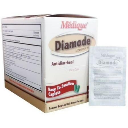 Diamode antidiarrhéiques Analgésique comprimés de 5 boîtes (250 comprimés) MS-71195