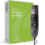 Nuance 369035 Dragon for MAC Version 5 with SpeechMike Premium USB Precision Microphone - Push Button Operation