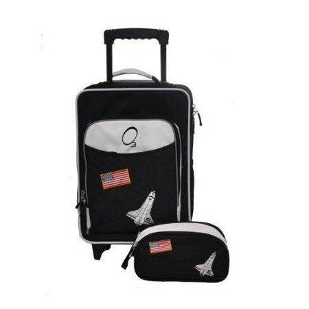 O3 Obersee Kids Space 2-piece Carry On Upright and Toiletry Bag Set