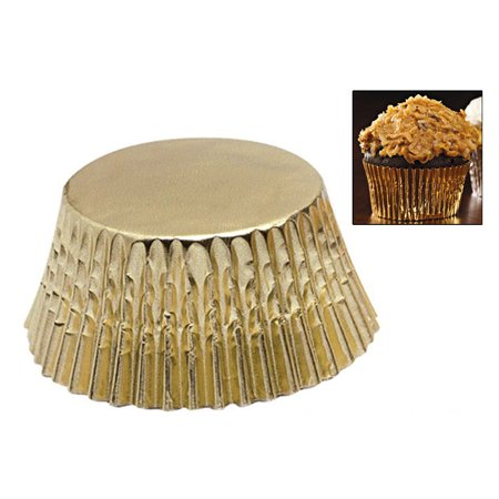 180 Gold Foil Cupcake Liners Baking Cups Cake Cupcake Muffin Cookie - Halloween Muffin Decoration Ideas