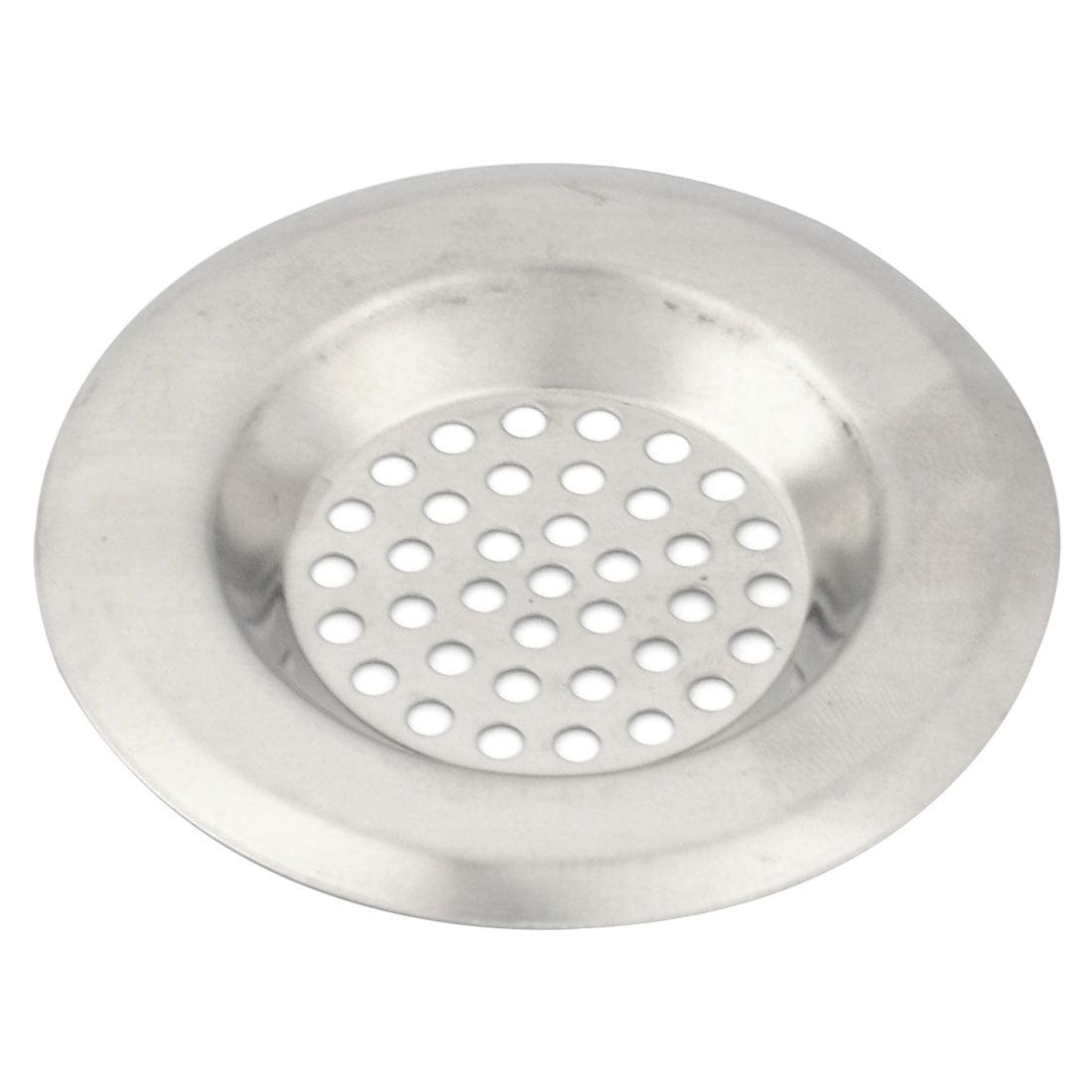 Kitchen Bathtub Stainless Steel Sink Garbage Strainer Filter Drain Stopper 2pcs