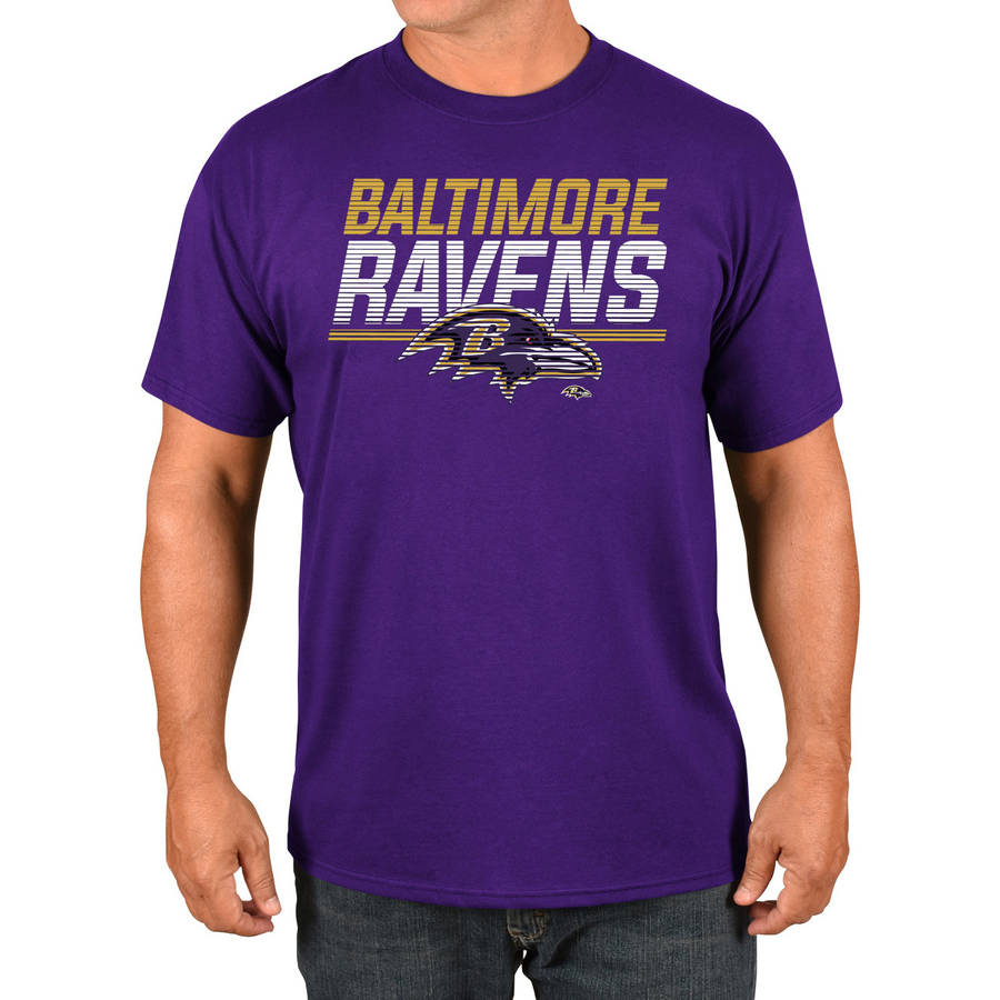 NFL Baltimore Ravens Big Men's Basic Tee