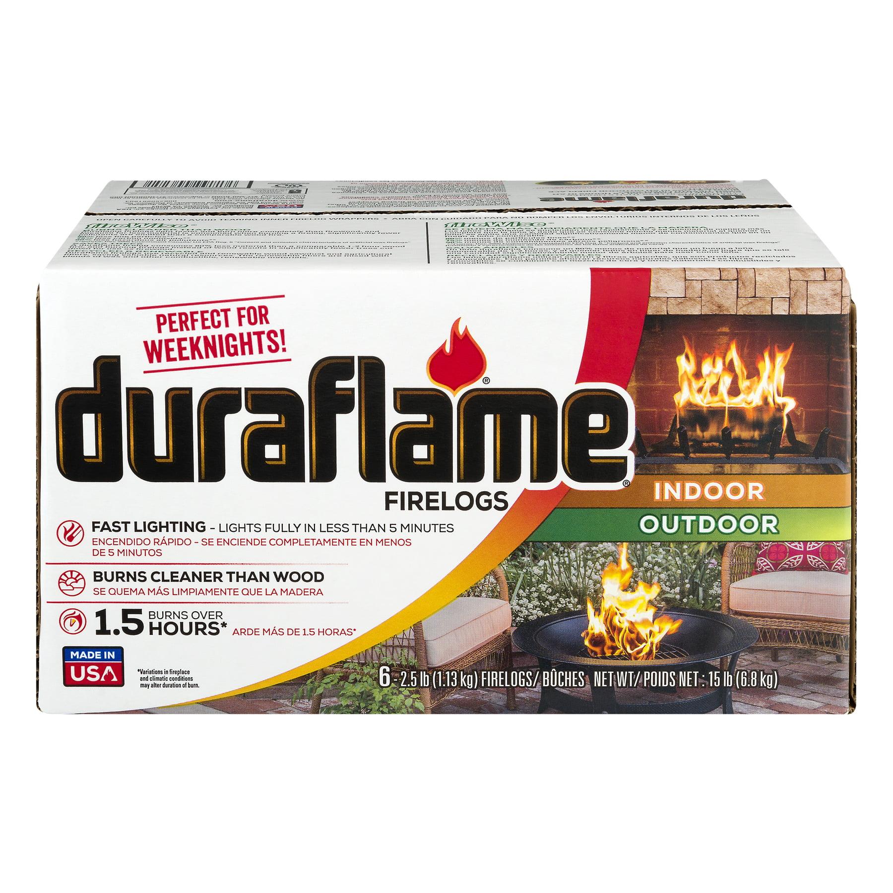 Duraflame 2.5lb 1.5-hr Firelog - 6 Pack