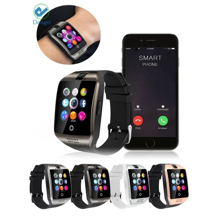 Deago Q18 Bluetooth Smartwatch Phone For Samsung Android Iphone Samrt Phones