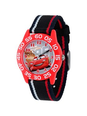 49fc5707730b1 Product Image Disney Cars Boys  Plastic Case Watch