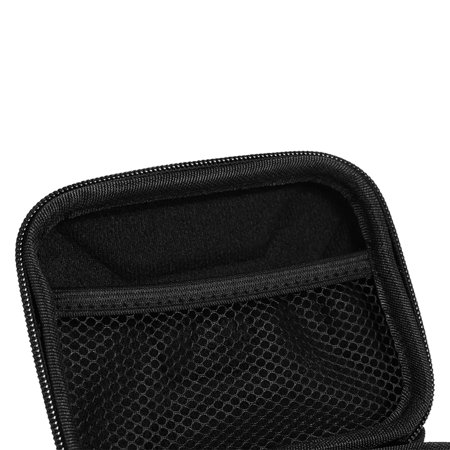 """EVA Shockproof 2.5 inch Hard Drive Carrying Case Pouch Bag 2.5"""" External HDD Power Bank Accessories Hand Carry Travel Case Protect Bag - image 2 de 7"""